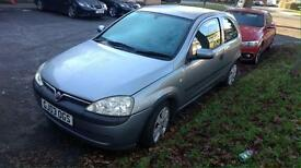 2003 Vauxhall Corsa 1.2, mot till 2017. £400 open to offer!!