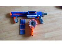 Nerf Rampage Gun with 15 darts