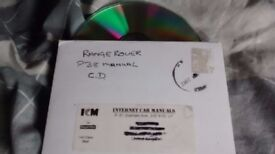 Range Rover P38 Complete Manual on Disc, plus other listed parts available cheap