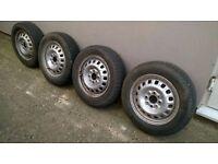 Classic Fiat Panda Steel wheels