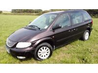 CHRYSLER VOYAGER 3.3 LX AUTO - PROFESSIONALLY FITTED LPG CONVERSION ( ECOFRIENDLY)
