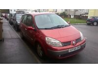 2006 Renault Scenic 1.5 dCi. Good Condition, 7 months MOT.