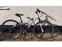 Aliminium Carrera bike