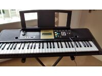 Yamaha Electronic keyboard model YPT220 with adjustable stand