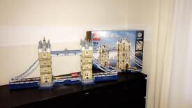 Lego tower bridge set