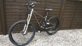 GIANT TRANCE X1 Full Sus MTB, 16 inch, GREY, LOOKS/RIDES SUPERB