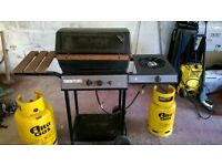 BBQ - Large Gas Barbecue (including 2 empty gas cylinders)