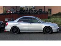 Subaru s7 wrc rally spoiler