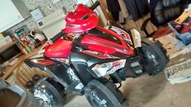 12 volt electric ride on quad (New)