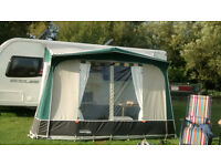 VENTURA MARLIN GREEN LIMITED EDITION AWNING WITH FIBRE GLASS LIGHTWEIGHT POLES