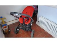 Quinny baby stroller and carseat