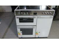 Belling DB4 90E 90cm Electric Range Cooker - white