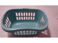 Wham High Grade Plastic Hipster Style Washing Linen Laundry Basket