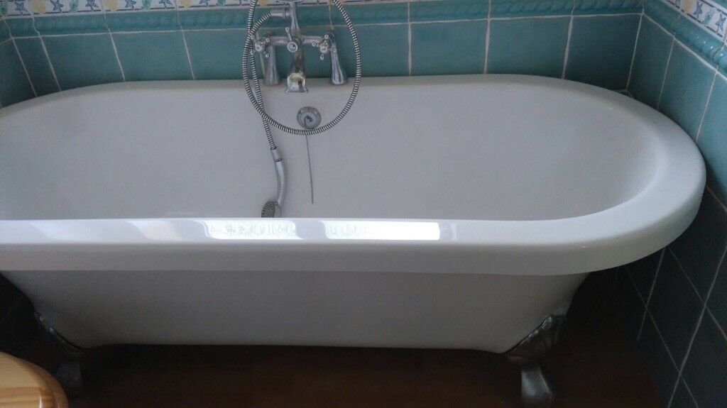 Acrylic Roll Top Bath | in West End, Hampshire | Gumtree