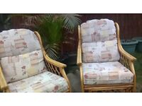 Conservatory or garden chairs