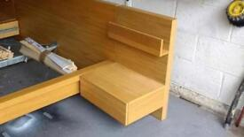 IKEA Malm Floating Bedside Tables