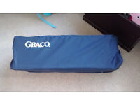 Graco Travel Cot, navy Blue