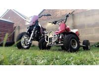 Midi moto 50cc and mini quad 50cc