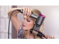 DYSON Supersonic Hair Dryer - Iron & Fuchsia