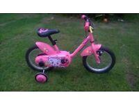 "Decathlon btwin Girls Bike 14"""