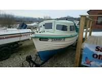 15ft Robert Ives Cuddy cabin fishing boat