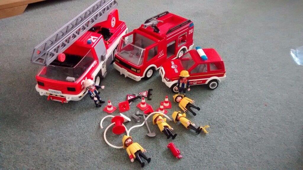 Vintage Playmobil Fire Engines Playmobil 4822 City