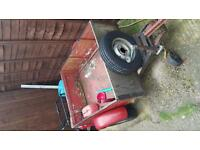 Small trailer 4 ft by 3 ft