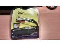 Easycap USB 2.0 Video Audio VHS to DVD Converter Capture Card Adapter