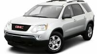 2010 GMC Acadia SLE-2  CAMERA RECUL BLUETOOTH 4 SIEGES CAPITAINE