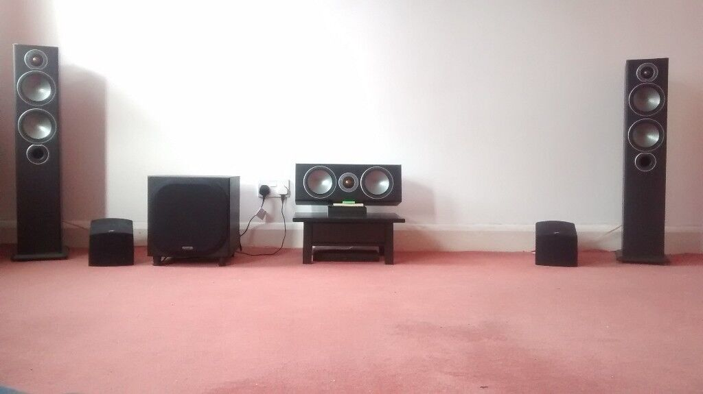 Monitor Audio Bronze 5 PSB Atmos 5.1.4 Speaker Package Centre W10 ...