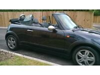 2005 mini convertible 1.6cc excellent cond top spec leathers chilli pack full history bargain £2495