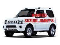 SUZUKI JIMNY'S WANTED!!!