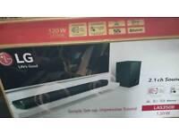 LG LAS350B DTS digital 2.1 surround system