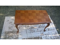 A stunning Vintage French Wooden Coffee Table