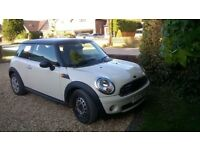 mini first 2010 with new mot