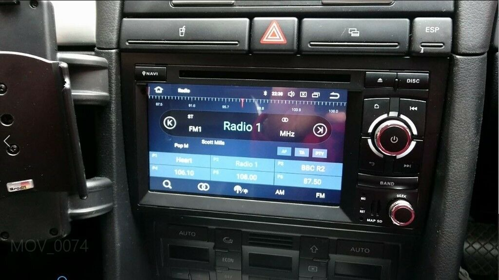 xtrons android touch screen stereo satnav for audi a4 b6 7. Black Bedroom Furniture Sets. Home Design Ideas