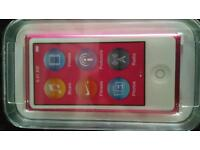 APPLE IPOD NANO 16GB IN PINK BRAND NEW UNOPENED