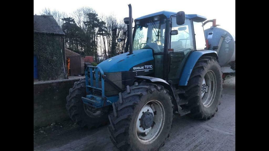 New Holland TS110 Tractor | in Cumbria | Gumtree
