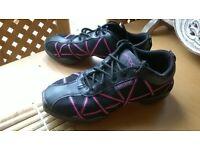 Capezio split sole dance sneakers