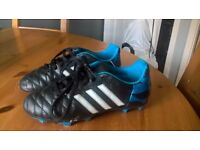 Kids adidas football boots size 2