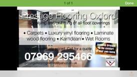Carpet fitter/floor layer