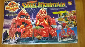 MIGHTY MAX Trapped in SKULL MOUNTAIN play set BOXED