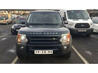 LHD LEFT HAND DRIVE LAND ROVER DISCOVERY 3 TDV6 HSE 7 SEATER FULLY LOADED LEATHER SAT NAV CLEAN