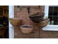 4 x Hanging Baskets