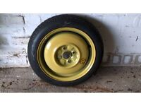 "Space saver wheel 14"".Taken from mazda 323 but should fit other makes including Honda,Toyota,Suzuki"
