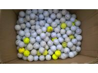 350 GOLF BALLS-- Titleist, Srixon, etc....well used