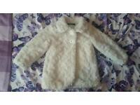 Fur coat 12-18 months