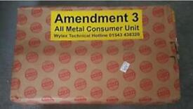Wylex 15 way fuseboard x 2 plus MCBs plus 25mm meter tail pack