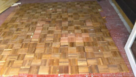 New wood Parquet flooring
