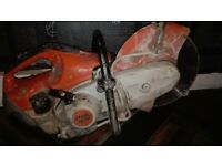 STHL TS 410 con/steel saw for sale